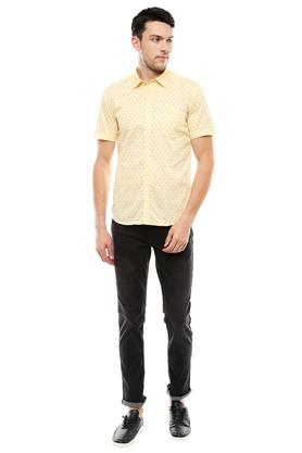 PARX - YellowCasual Shirts - 3