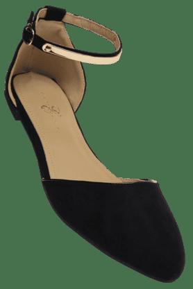 ELLIZA DONATEINWomens Buckle Closure Ballerina Shoe - 200285470
