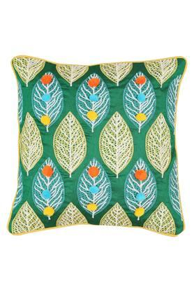 FERN - Turquoise Cushion Cover - Main