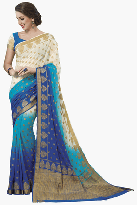 ASHIKA Womens Colour Block Saree - 201461564