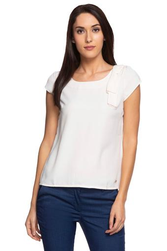 PARK AVENUE -  White Tops & Tees - Main