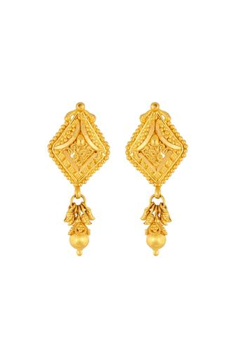 61cd5c127094c Womens Yellow Gold Traditional Stud Earrings GERD16035665