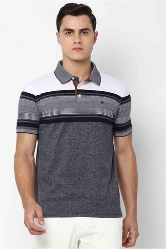 LOUIS PHILIPPE -  NavyT-Shirts & Polos - Main