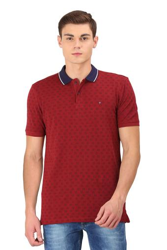 LOUIS PHILIPPE SPORTS -  Wine T-shirts - Main