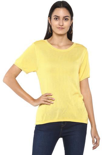 ALLEN SOLLY -  YellowTops & Tees - Main