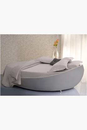 ST CLOUDConcrete 600 TC Easy Care Solid Bed Linen (Bedsheet Set (King XL)