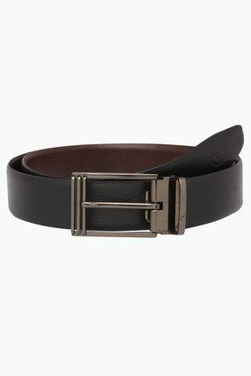 VETTORIO FRATINI Mens Leather Formal Reversible Buckle Belt
