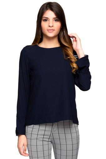 ALLEN SOLLY -  Dark Blue Tops & Tees - Main