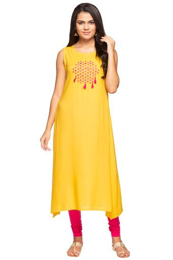 STOP -  Yellow Kurtas - Main