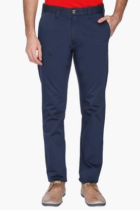 U.S. POLO ASSN. Mens Slim Fit Solid Chinos - 201262029