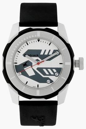 FASTRACK Mens Sport Silver Dial Analogue Watch