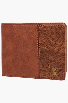 BAGGITMens Golfer Leather 1 Fold Wallet - 201860779