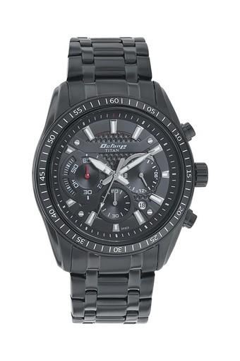 Mens Chronograph Stainless Steel Watch - 90077NM01