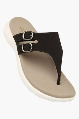 TRESMODEWomens Daily Wear Slipon Flat Sandal