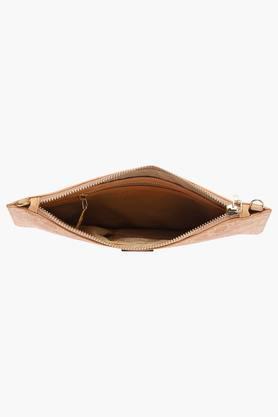 Womens Casual Wear Zipper Closure Sling Clutch