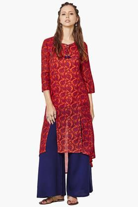 GLOBAL DESI Womens Printed Kurta - 201652440