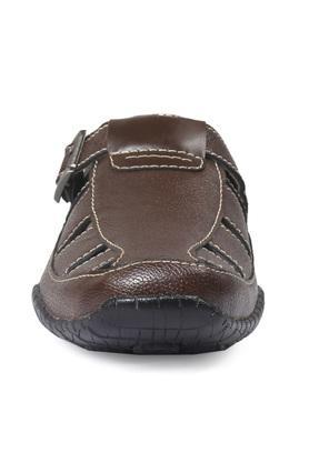 Mens Casual Wear Buckle Closure Sandals