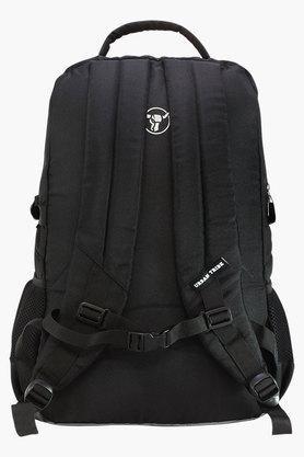 Unisex 2 Compartments Zipper Closure Laptop Backpack