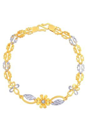MALABAR GOLD AND DIAMONDS Womens Gold Bracelet SKYBR61