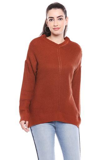 FEMINA FLAUNT -  OrangeWinterwear - Main