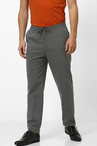 CELIO -  GreyCasual Trousers - Main