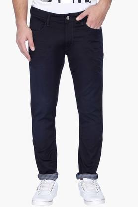 Rare Rabbit Jeans (Men's) - Mens 5 Pocket Coated Jeans