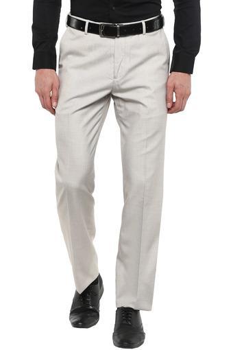 ARROW -  GreyFormal Trousers - Main