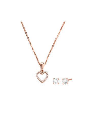 Buy Michael Kors Womens Premium Rose Gold Jewellery Set Mkc1130an791 Shoppers Stop