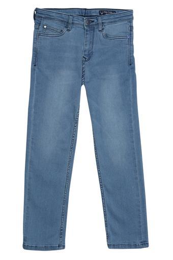 ALLEN SOLLY -  Light BlueBottomwear - Main