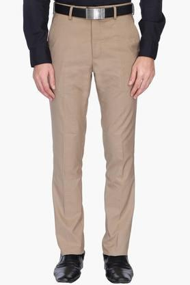 VETTORIO FRATINI Mens 4 Pocket Check Formal Trousers