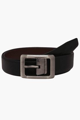 VETTORIO FRATINIMens Leather Reversible Formal Belt