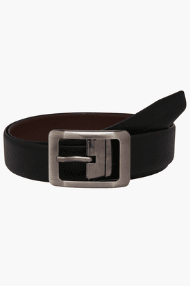 VETTORIO FRATINI Mens Leather Reversible Formal Belt