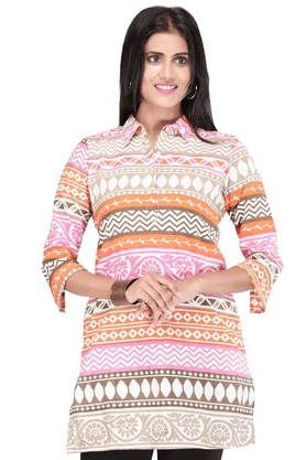 STOP Women Cotton Kurta - 9860369