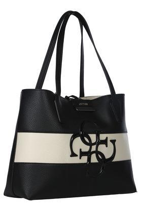 Womens Loop Closure Tote Handbag