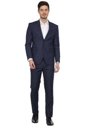 LOUIS PHILIPPE -  Mid Blue Suits & Blazers & Ties - Main