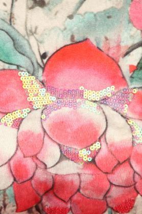 FERN - Pink MixCushion Cover - 2