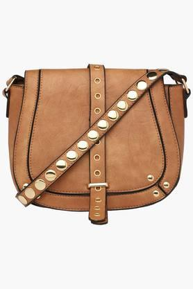 RS BY ROCKY STAR Womens Snap Closure Sling Bag