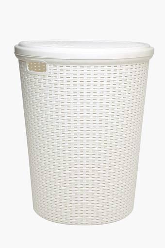 Cylindrical Laundry Basket