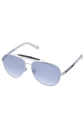 TRUSSARDI Womens Aviator Mirror Sunglasses