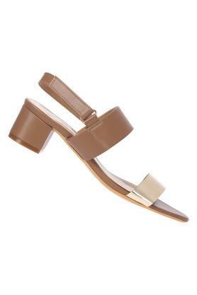 Womens Casual Wear Velcro Closure Heels