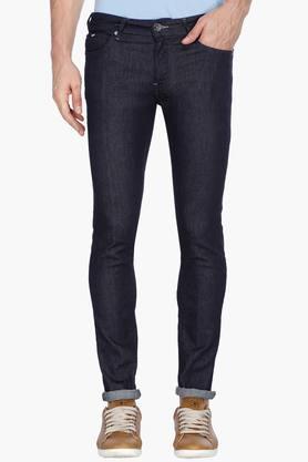 Jeans (Men's) - Mens 5 Pocket Stretch Jeans (Sax Zip Fit)