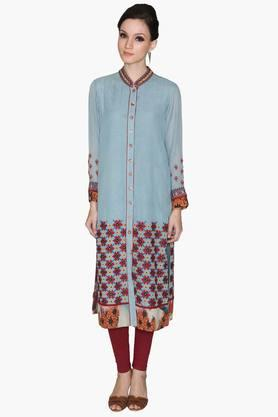 RITU KUMAR Womens Embroidered Kurta And Leggings Set