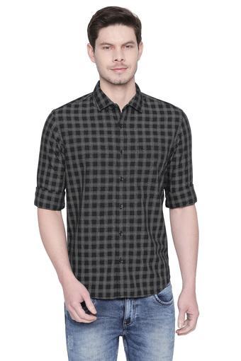 BASICS -  BlackCasual Shirts - Main