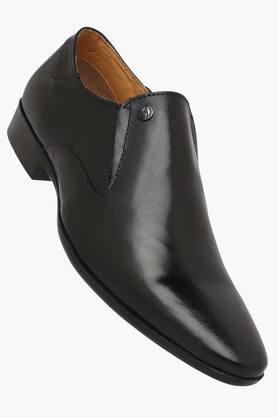Mens Leather Slip On Formal Loafers - 202135611
