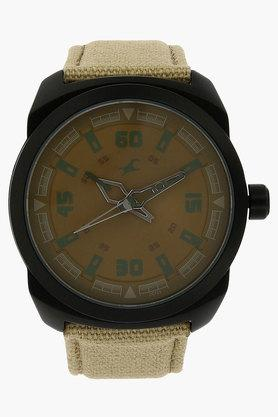 FASTRACK Mens Beige Dial Analogue Watch
