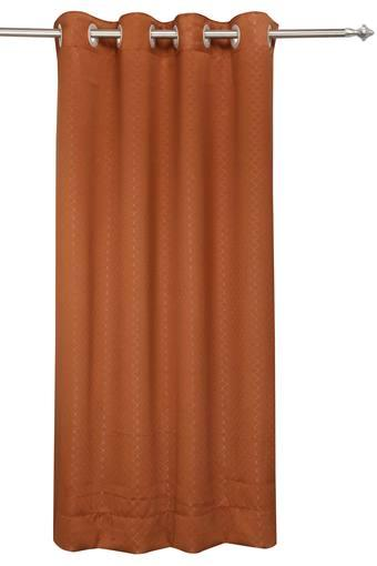HOUZZCODE -  Brown Curtains - Main