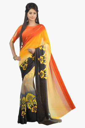 JASHN Womens Printed Saree - 201502487