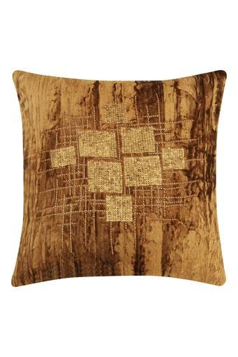 FERN -  Brown Cushion Covers - Main