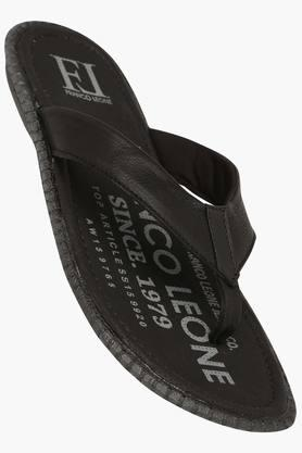 FRANCO LEONE Mens Casual Slipon Slipper