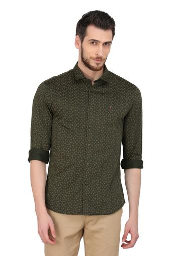 LOUIS PHILIPPE SPORTS -  Olive Shirts - Main